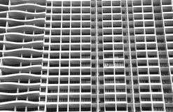 Bloco de apartamentos moderno imagens de stock