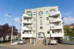 Bloco de apartamentos número 98 Imagem de Stock Royalty Free