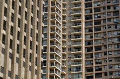 Bloco de apartamentos Sydney New South Wales Australia dos apartamentos Imagem de Stock Royalty Free