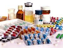 Bloco de bolha dos comprimidos. Remédio. fotografia de stock
