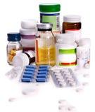 Bloco de bolha dos comprimidos. Remédio. Imagem de Stock