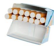 Bloco de cigarros Fotografia de Stock