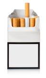 Bloco de cigarros Fotos de Stock