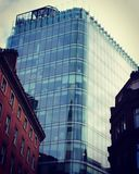 Bloco de escritório murado vidro Foto de Stock