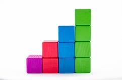 Bloco de estatísticas Fotos de Stock