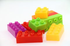 Bloco de Lego Fotografia de Stock
