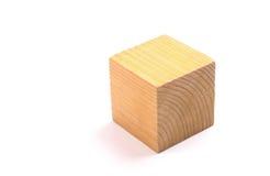 Bloco de madeira Fotografia de Stock