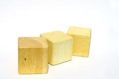 Bloco de madeira Foto de Stock Royalty Free