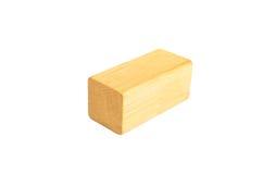 bloco de madeira do retângulo fotos de stock royalty free