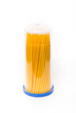Bloco de Microbrush dental Imagens de Stock Royalty Free