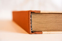 Bloco de notas com páginas de Brown Imagens de Stock Royalty Free
