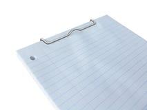 Bloco de notas em branco Imagem de Stock