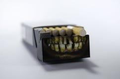 Bloco do cigarro Imagem de Stock Royalty Free