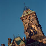 Bloco do leste, monte do parlamento, Ottawa Imagem de Stock Royalty Free