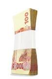 Bloco do papel moeda Imagens de Stock Royalty Free