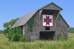 Bloco do Quilt da estrela de Ohio foto de stock
