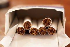 Bloco dos cigarros Foto de Stock Royalty Free