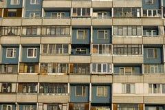Bloco dos condomínios Imagens de Stock