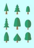 Bloco dos desenhos animados da árvore Foto de Stock Royalty Free