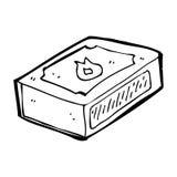 bloco dos desenhos animados dos fósforos Fotos de Stock