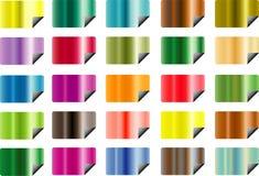 Bloco metálico das etiquetas Imagem de Stock