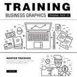 Bloco moderno do treinamento do negócio Fotografia de Stock Royalty Free