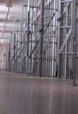 Bloco ou prisão de pilha de cadeia imagens de stock royalty free