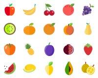 Bloco padrão do fruto ilustração stock