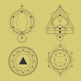 bloco sagrado da geometria ilustração do vetor