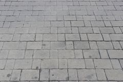Blocos cinzentos do tijolo Fotografia de Stock