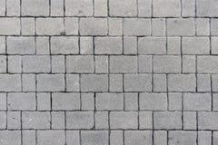 Blocos cinzentos do tijolo Fotos de Stock Royalty Free