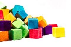 Blocos coloridos Foto de Stock Royalty Free