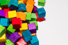 Blocos coloridos Imagem de Stock Royalty Free