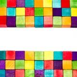 Blocos coloridos Fotografia de Stock Royalty Free