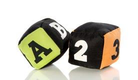 Blocos coloridos do jogo Foto de Stock