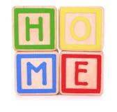 Blocos da HOME Foto de Stock