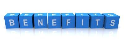 Blocos da letra dos benefícios