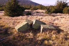 Blocos da pedra Fotografia de Stock
