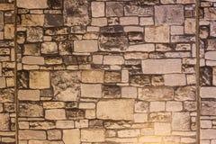 Blocos da pedra Textura capaz da telha sem emenda Foto de Stock Royalty Free