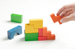 blocos de apartamentos Fotos de Stock