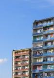 Blocos de apartamentos foto de stock