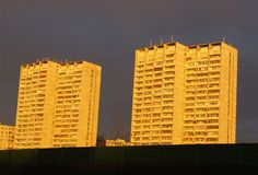 Blocos de apartamentos 3 Fotos de Stock