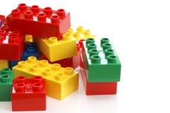 Blocos de apartamentos do brinquedo Foto de Stock Royalty Free