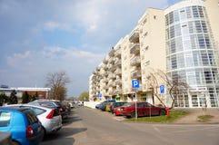 Blocos de apartamentos novos Imagem de Stock