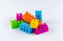Blocos de apartamentos plásticos Imagem de Stock Royalty Free