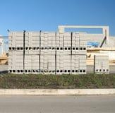 Blocos de Cememt Foto de Stock