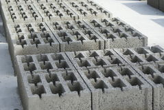 Blocos de cimento fotografia de stock royalty free