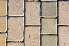 Blocos de cimento, blocos de estrada, rés do chão Imagens de Stock Royalty Free