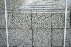 Blocos de cimento de Ceramsite Imagens de Stock Royalty Free