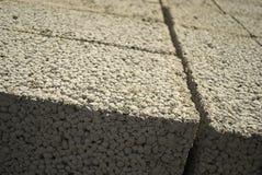 Blocos de cimento de Ceramsite Imagens de Stock